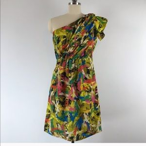 MM Couture by Miss Me One Shoulder Mini Dress Sz M